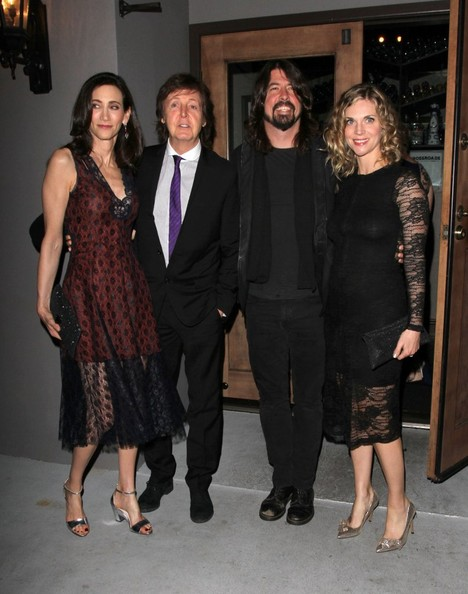 Paul McCartney and Dave Grohl Out in Hollywood
