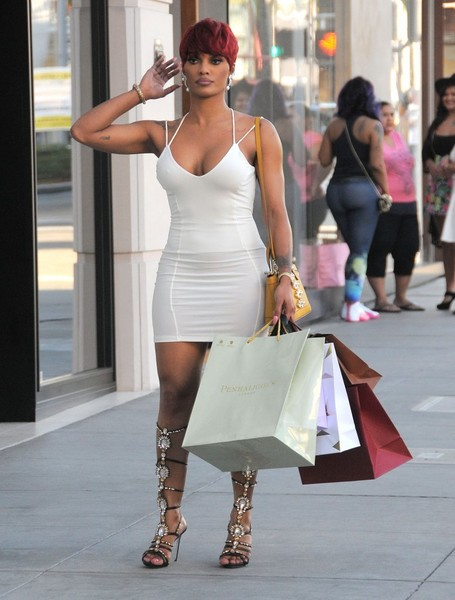 Joseline Hernandez Filming 'Love and Hip Hop'