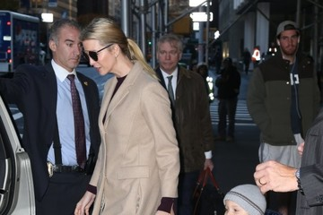 Joseph Kushner Ivanka Trump Steps Out With Her Children in NYC