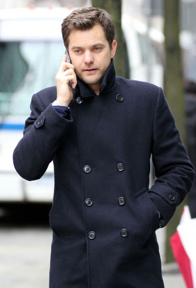 Actor Joshua Jackson filming a scene on the set of 'Fringe' in Vancouver, Canada.