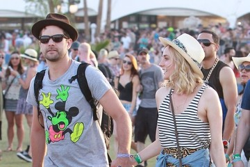 Joshua Jackson Celeb Sightings at Coachella: Day 2