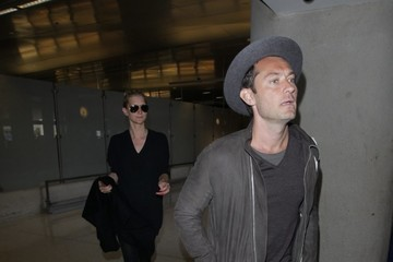 Jude Law Jude Law Departs From LAX