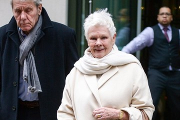 Judi Dench David Mills Judi Dench and David Mills Out in NYC