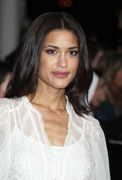 Julia Jones At Burberry Body Launch In Beverly Hills: Stars At The 'Breaking Dawn