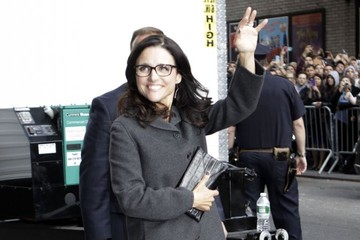 Julia Louis-Dreyfus Celebs Making Their Last Appearance on 'The Late Show With David Letterman'