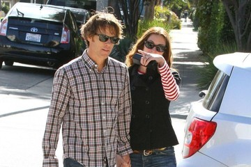 Julia Roberts Julia Roberts & Daniel Moder Out For A Walk In Santa Monica