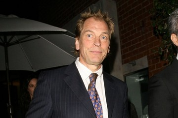 Julian Sands Celebs Get Dinner at Mr Chow
