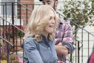 Julianne Moore Stars Film 'Freeheld' in NYC