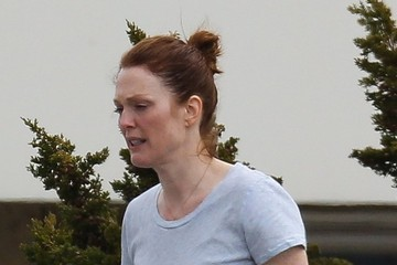 Julianne Moore Scenes from the 'Still Alice' Set