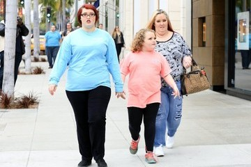 June Shannon 'Here Comes Honey Boo Boo' Stars Out in Beverly Hills