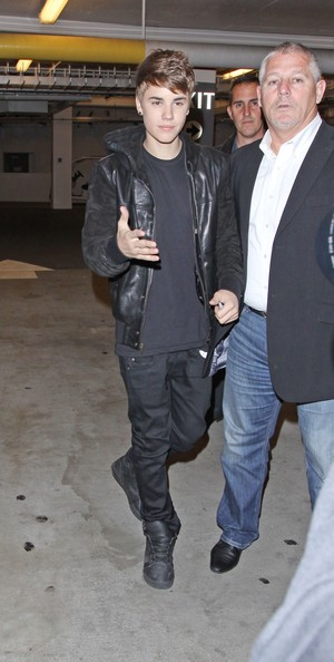 Justin Bieber Singer Justin Bieber is pictured leaving Spago Restaurant and later returning to his hotel in Beverly Hills, CA.