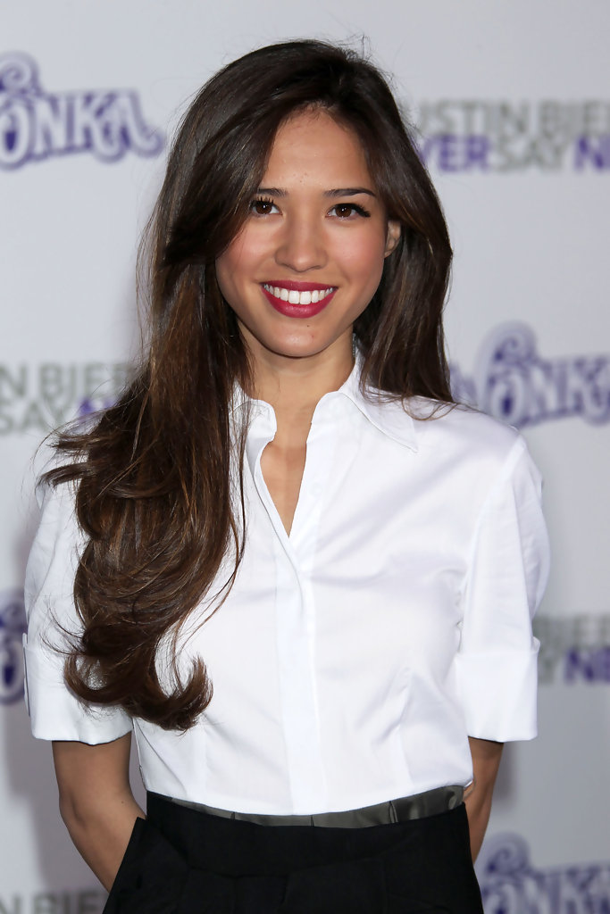 Kelsey Chow In Quot Justin Bieber Never Say Never Quot Los