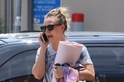 Kaley Cuoco Leaves Yoga In Studio City