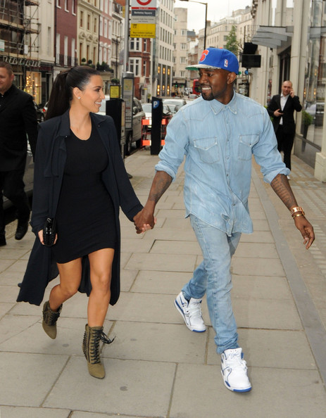 Kanye West - Kim & Kanye Are Lovely London Lovers