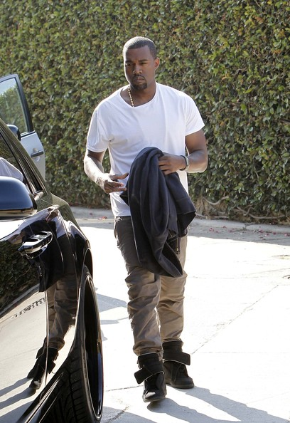 > Kanye wearing Maison Martin Margiela leather sneakers - Photo posted in Kicks @ BX  (Sneakers & Clothing) | Sign in and leave a comment below!