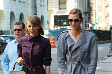 Karlie Kloss Taylor Swift and Karlie Kloss Spend the Day Together