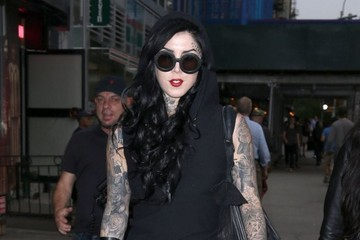 Kat Von D Kat Von D Spotted Out and About in NYC