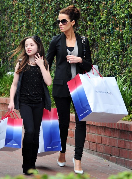 Lily Mo Sheen in Kate Beckinsale And Her Daughter Shopping ... Kate Beckinsale Daughter