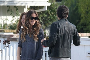 Kate Beckinsale Len Wiseman Kate Beckinsale Takes Her Daughter to a Friend's House