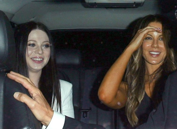 Kate Beckinsale and Michelle Trachtenberg Do Dinner
