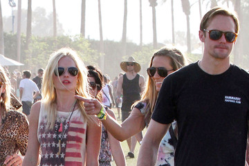 Kate Bosworth Alexander Skarsgard Kate Bosworth And Alexander Skarsgard At The 2011 Coachella Music Festival