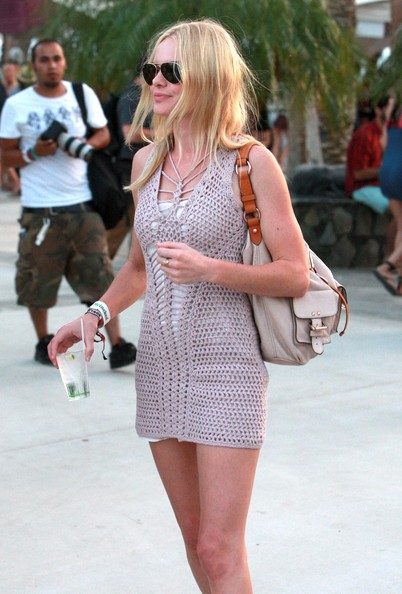 Kate Bosworth Kate Bosworth and friends at day 1 of the Coachella Music and Arts Festival in Indio, CA.