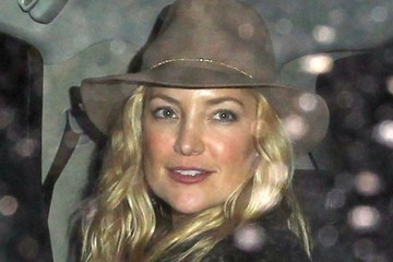 Kate Hudson Celebrities Dine Out At The Nice Guy Restaurant