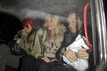 Kate Moss Kate Moss And Jamie Hince Out For Dinner At The Wolseley