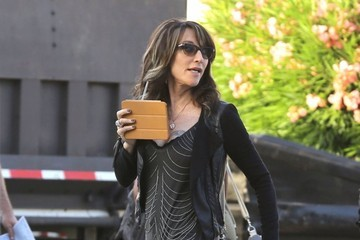 Katey Sagal 'Sons of Anarchy' Films in LA