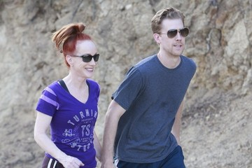 Kathy Griffin Kathy Griffin and Randy Bick Go Hiking