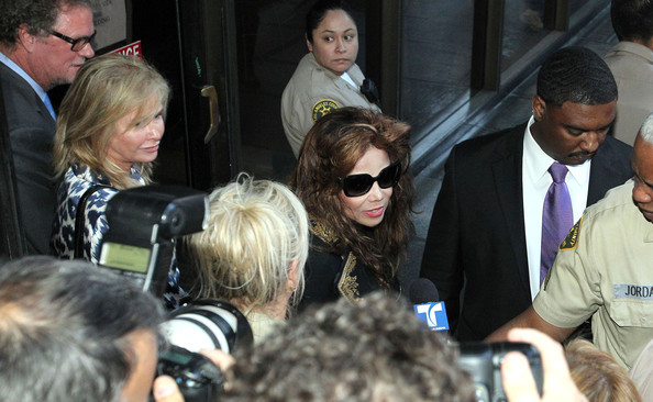 Michael Jackson's Family At The Courthouse For The Dr. Conrad Murray Verdict