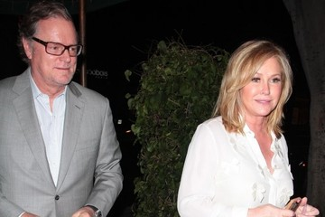 Kathy Hilton Celebs Out to Dinner at Madeo