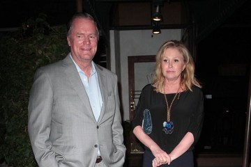 Kathy Hilton Celebs Get Dinner at Madeo