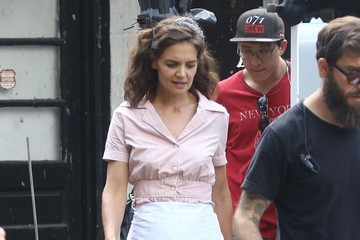 Katie Holmes Stars on the Set of 'All We Had'
