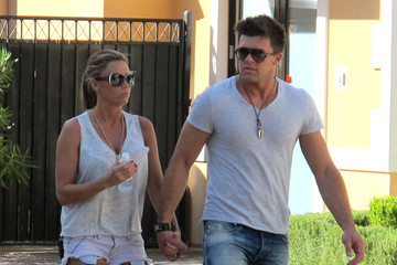 Katie Price Leandro Penna Katie Price And Leandro Penna Have A Busy Day In Vegas
