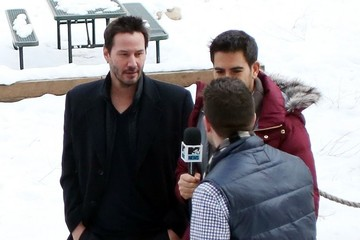 Keanu Reeves Celebrities At The 2015 Sundance Film Festival