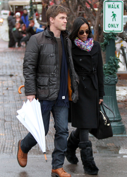 zoe saldana and keith britton. Zoe Saldana And Keith Britton
