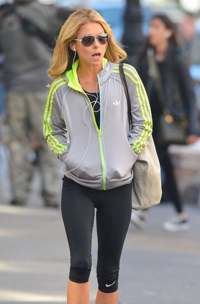 ripa out for a walk in nyc in this photo kelly ripa tv host kelly ripa