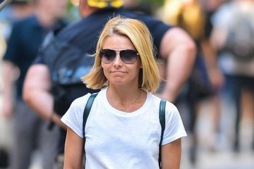 Kelly Ripa Kelly Ripa & Mark Consuelos Out And About In New York