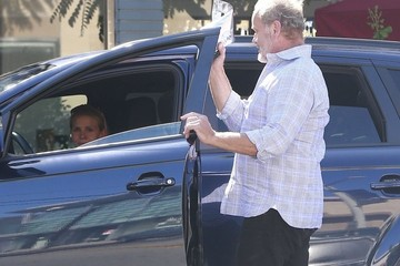 Kelsey Grammer Kelsey Grammer & Kayte Walsh Out Shopping in West Hollywood