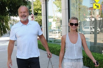 Kelsey Grammer Kelsey Grammer and Wife Kayte Walsh Shop in West Hollywood