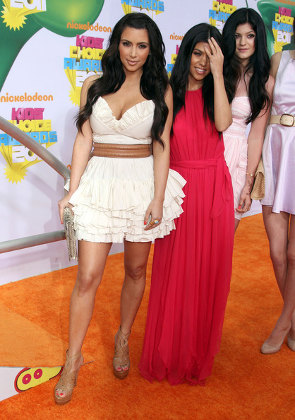 Kendall Jenner Celebrities attending the 2011 Nickelodeon's Kids' Choice Awards at the Galen Center in Los Angeles, CA.