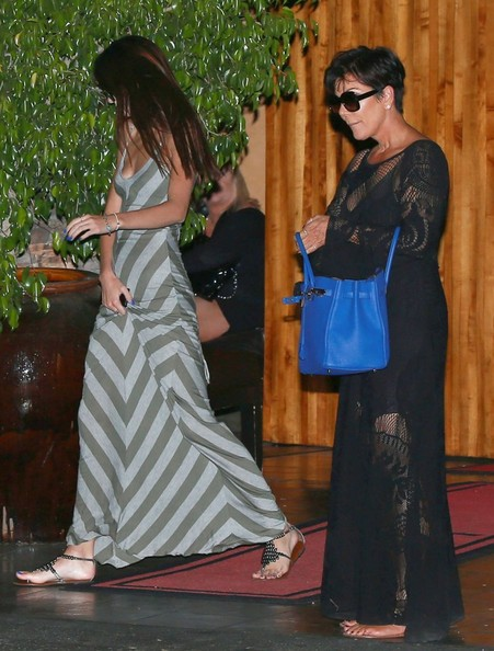 Kendall Jenner - The Kardahsians Dine Out At Mastros