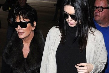 Kendall Jenner Kris and Kendall Jenner Arrive at LAX — Part 2