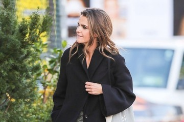 Keri Russell Keri Russell Out And About In NYC