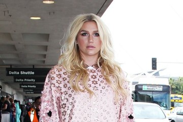 Kesha Kesha Departing From LAX Airport