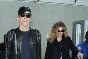 Kevin Bacon and Kyra Sedgwick Arrive to LAX