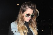 Khloe Kardashian Departing On A Flight At LAX