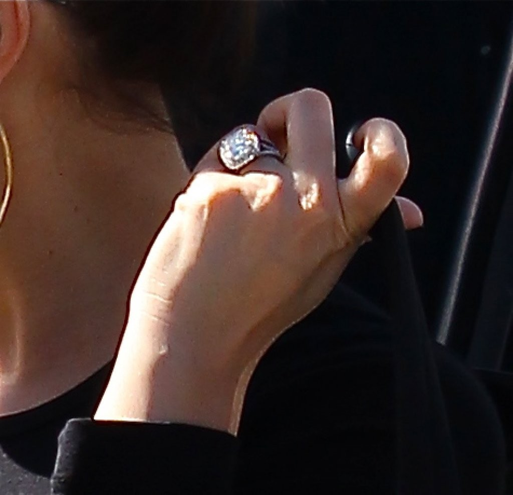 Lamar Odom Wearing Wedding Ring