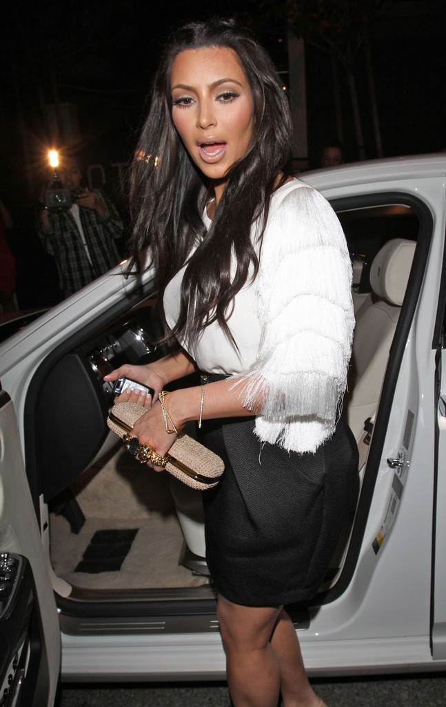 Kim Kardashian - Bad Celebrity Drivers - Zimbio